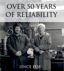 Over 50 years of reliability - Since 1938