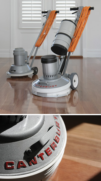 Canterbury Floor Polisher - welcome